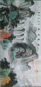 陈建安国画作品《鸿運當頭》价格2800.00元