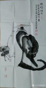 陈建安国画作品《人物》价格1200.00元