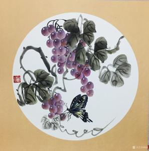 杨凌国画作品《硕果系列2》价格200.00元