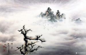 罗树辉国画作品《蝉妙》价格15000.00元