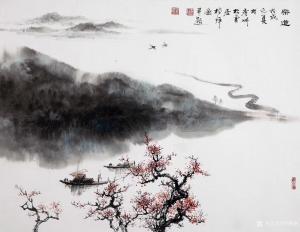 罗树辉国画作品《禅妙》价格6000.00元
