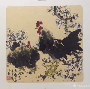 赵永刚国画作品《吉祥》价格600.00元