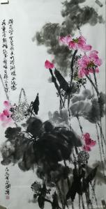 赵永刚国画作品《清荷图》价格6000.00元