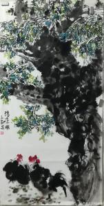 赵永刚国画作品《清凉一夏》价格6000.00元