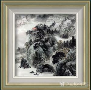 蒋元生国画作品《深山幽居图》价格2000.00元