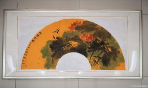 旭翔画院国画作品《荷塘清趣》价格666.00元