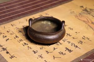 明清古艺文玩杂项作品《崇祯香炉》议价