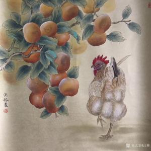 汪林国画作品《吉利图》价格600.00元