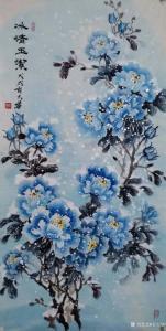 吉大华国画作品《冰清玉洁》价格500.00元