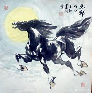 刘建国国画作品《思乡》价格480.00元