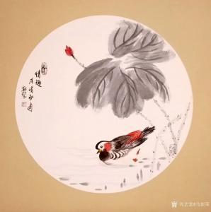 马新荣国画作品《情趣》价格600.00元