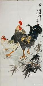 卢士杰国画作品《常胜将军》价格1000.00元