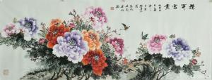 刘建岭国画作品《花开富贵2》价格800.00元