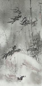 艾宗光国画作品《【竹子3】作者艾宗光》价格3000.00元