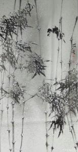 艾宗光国画作品《【竹子2】作者艾宗光》价格3000.00元