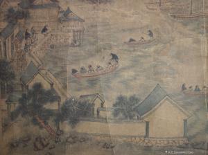 15668627599国画作品-《云霞出海曙梅柳渡江春》