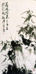 任清宇国画作品《兰-清风徐来》价格10000.00元