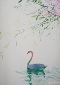 王征明油画《水意画-立夏》