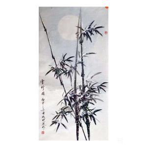 成晓燕国画作品《雪竹图》价格1000.00元