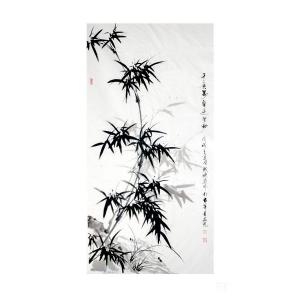 成晓燕国画作品《竹》价格1000.00元