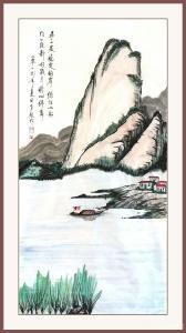 秦发艺国画《静好岁月》