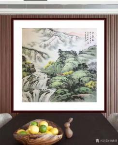 徐建清国画作品《山水画—深山云起》价格6000.00元