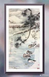 徐建清国画作品《花鸟画—冬雪》价格20000.00元