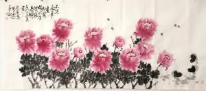 13561955814国画作品-《富贵吉祥》
