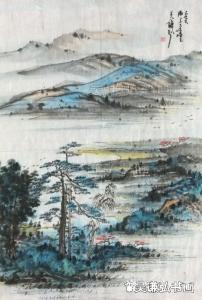 吴谦弘国画作品-《山水20200215》