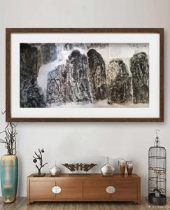陈培泼国画作品《江山图》价格700.00元