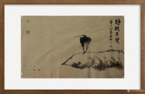 杨国钧国画作品-《小写意》