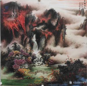 艺术品图片:艺术家周顺生国画作品名称《芦笛高秋》价格800.00 元