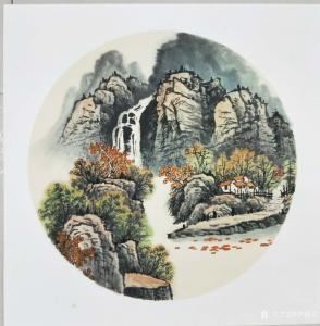 李振军国画作品《仿古山水(2)》价格480.00元