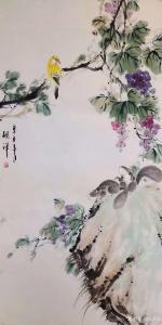 张清永国画作品《花鸟-自然野趣》价格300.00元