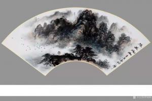 罗树辉国画作品《山水-缘在此山》议价