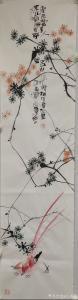 吕小仙国画作品-《富贵身》