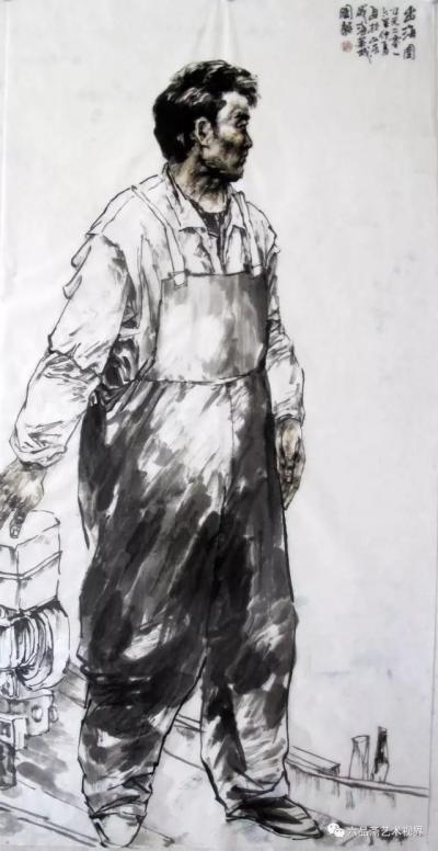 赵国毅日记-近日带人民大学画院学生在山东威海成山头渔场画写坐【图2】