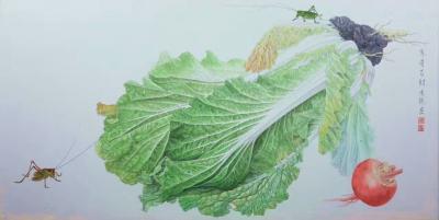 傅饶日记-两颗大白菜【图2】