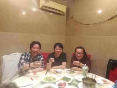 王东帝生活-很荣幸,和三位大师喝酒聊天!!谢谢兄弟们!!——顾飙大师~中国非物质文化传承人,【图2】
