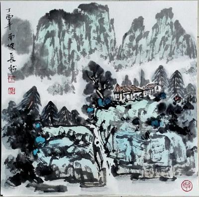 王长松日记-小品四张【图1】