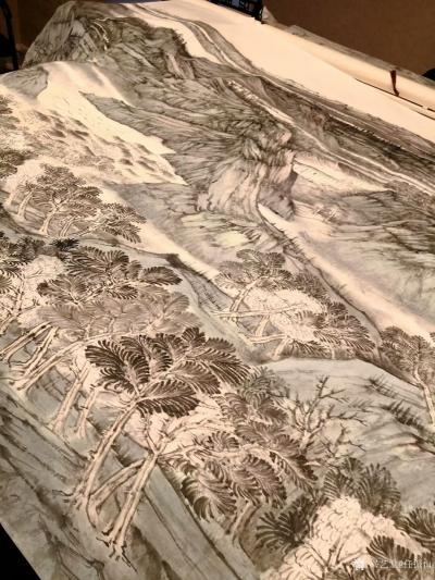 任振山日记-约一百平尺 即将完成,丝路绽放~时代春风 任振山【图2】