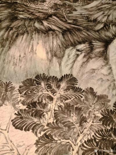任振山日记-约一百平尺 即将完成,丝路绽放~时代春风 任振山【图3】