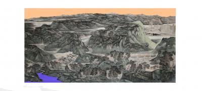 任振山日记-约一百平尺 即将完成,丝路绽放~时代春风 任振山【图6】