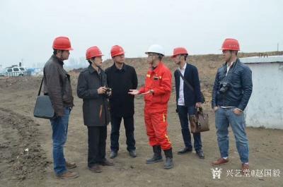 赵国毅生活-在大庆油田写生的日子,留影【图3】