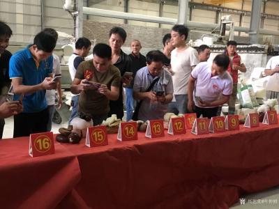 叶仲桥收藏-10月9日获邀参加2018年云浮市石材工艺制作比赛评委,参赛选手的水平比上届的水【图4】