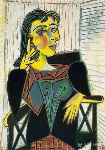 杨牧青日记-西班牙画家毕加索,他的艺术伟大性就是以自己独特的艺术思维方式和艺术眼光审视了这个【图2】