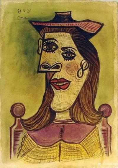杨牧青日记-西班牙画家毕加索,他的艺术伟大性就是以自己独特的艺术思维方式和艺术眼光审视了这个【图4】