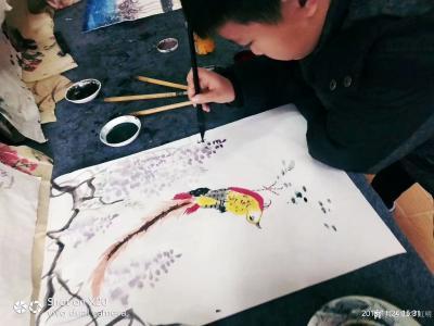 罗虹明收藏-小画家23号开始正式上课了。墙上的空白处等你来画,地址新华书店北巷四楼。欢迎家长【图5】