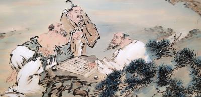 李亚南日记-对弈圖【图2】