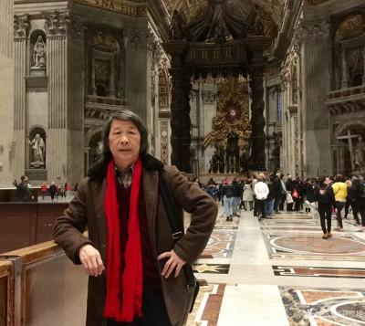 刘应雄生活-神圣的古罗马-刘应雄歐洲釆风写生之九   罗马是意大利的首都和最大的城市,也是【图1】